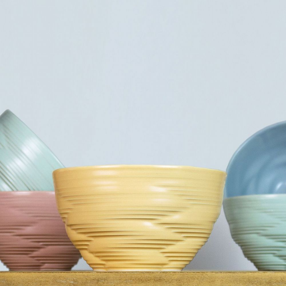 Harriet Caslin Porcelain - Knotted Small Bowl - Choice Of 3 Colours